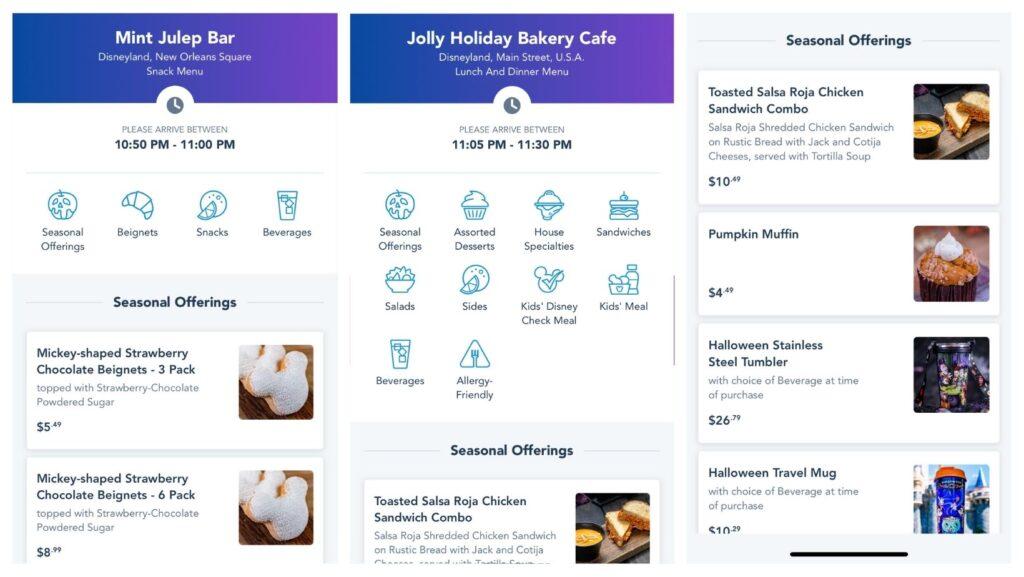 mint julep bar jolly holiday bakery cafe disneyland