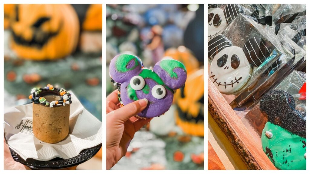 seasonal treats halloween disneyland resort